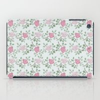 Rose Print iPad Case