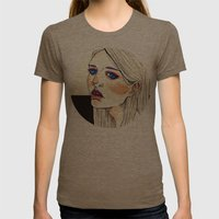 Freckles  Womens Fitted Tee Tri-Coffee SMALL