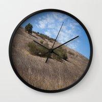 A Field Summer Wall Clock