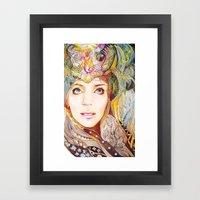 Nasimeh Framed Art Print