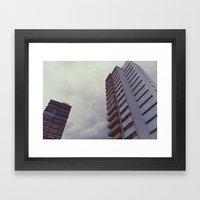 buildings 3 Framed Art Print