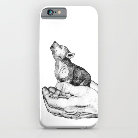 Wolf Cub // Graphite iPhone & iPod Case