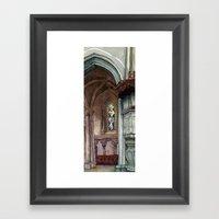 Cathédrale, Partie Deux Framed Art Print
