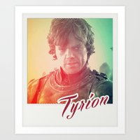 Tyrion - Game Of Thrones Art Print