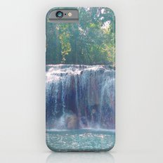 Turquoise Waterfall iPhone 6 Slim Case