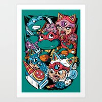 Special Delivery! Art Print