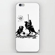 Han Quixote iPhone & iPod Skin