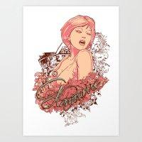 Glamorous Art Print