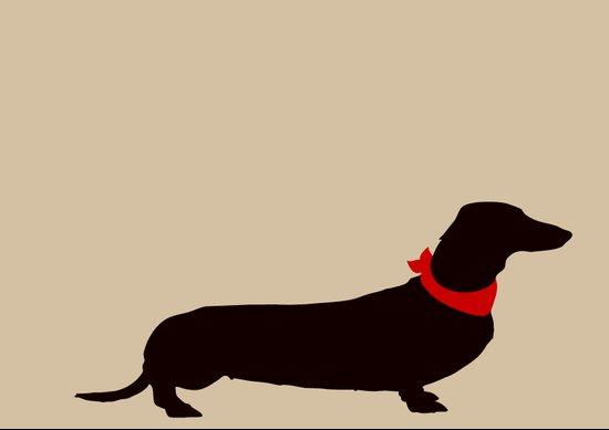 Daschund Dog Art Art Print