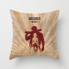 Bioshock Infinite - Book… Throw Pillow