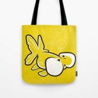 Bubble Eye Goldfish Tote Bag