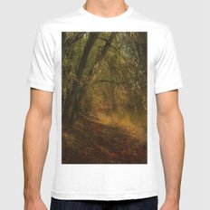 Solitude Mens Fitted Tee White SMALL