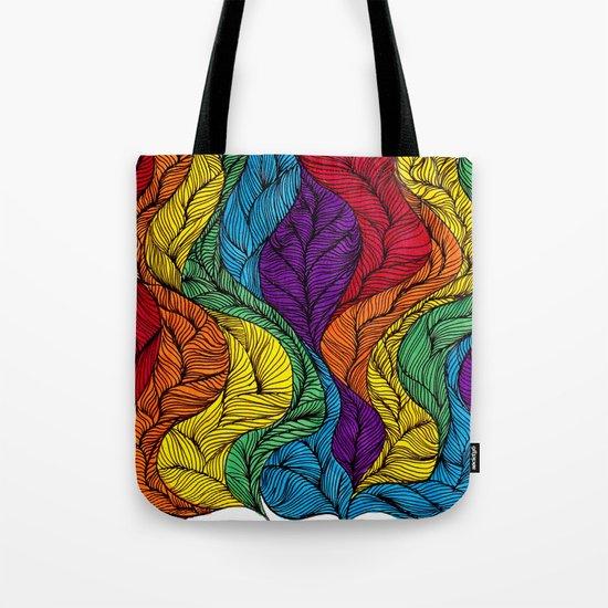 Rainbow Hair Tote Bag
