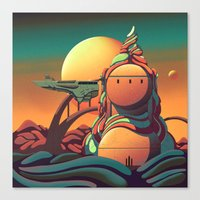 The Observatory Canvas Print