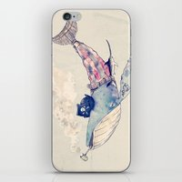 Pirate Whale iPhone & iPod Skin