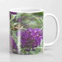 Hummingbird moth Mug