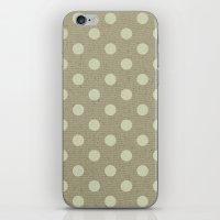 Camel Polka Dots iPhone & iPod Skin
