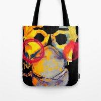 Phantom Hands Tote Bag