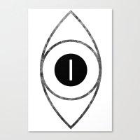 EYE of Line Canvas Print