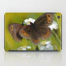 Summery Butterflies on Gold iPad Case