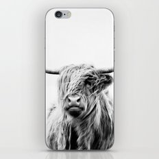 Portrait Of A Highland C… iPhone & iPod Skin