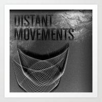Distant Movements (Forgotten Broadcast) Art Print
