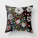 spring shower Throw Pillow