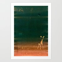 First Steps Art Print