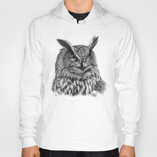 Eurasian Eagle Owl Hoody