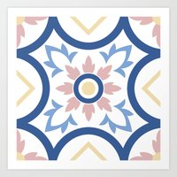 Floor Tile 2 Art Print