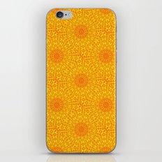 Yellow Earth Mandala iPhone & iPod Skin
