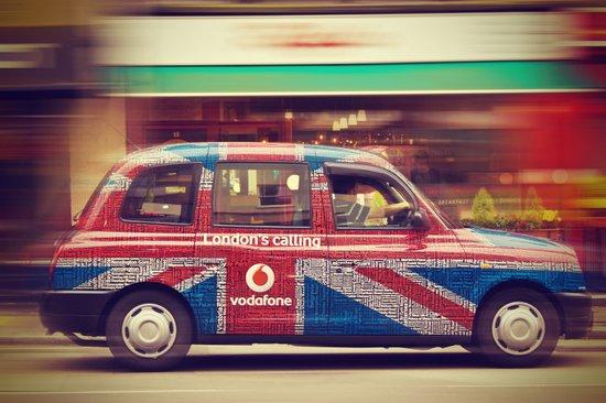 London's Calling  Art Print