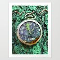 Green Time Art Print