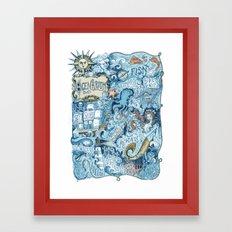 Ocenarium Framed Art Print