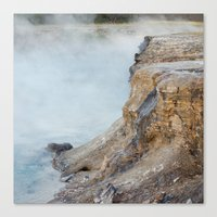 Deep Hot Spring  Canvas Print