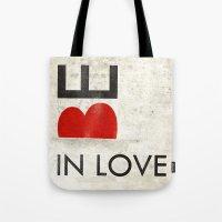 BE IN LOVE Tote Bag