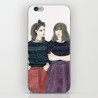 Sessun Girls iPhone & iPod Skin
