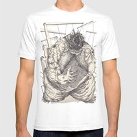 The Feverish Mens Fitted Tee White SMALL