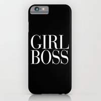 Girl Boss Black Vogue Ty… iPhone 6 Slim Case