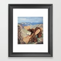 Dredging Framed Art Print