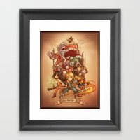 Final Fantasy IX Framed Art Print