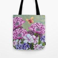 Fanciful Garden Tote Bag