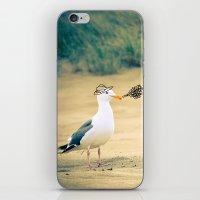 rebel gull. iPhone & iPod Skin