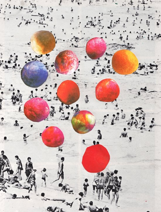 BEACH BALLS Canvas Print