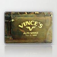 Vince's Laptop & iPad Skin