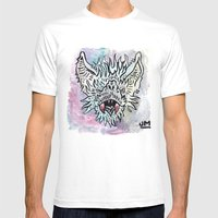 BATFACE Mens Fitted Tee White SMALL