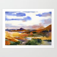 Mountains Of The Southwe… Art Print