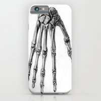 iPhone & iPod Case featuring Hand  by Kr_design