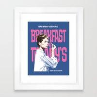 Breakfast At Tiffany's M… Framed Art Print