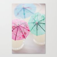 Vacation Colors Canvas Print
